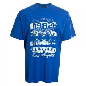Espionage Kingsize T256 1982 LA T-Shirt Royal