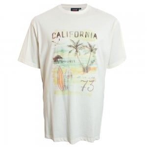 Espionage Kingsize T245 California T-Shirt Ecru