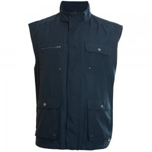 Espionage Kingsize JT100 Multi Pocket Gilet Navy