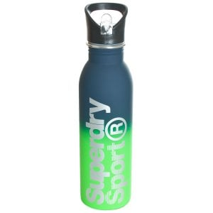 Superdry Steel Sport Bottle Green Ombre