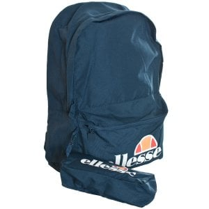 Ellesse Rolby Backpack & Pencil Case Navy