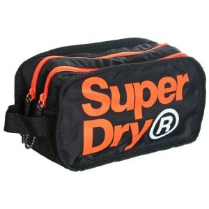 Superdry Freshman Wash Bag Black