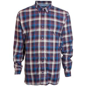 Ben Sherman Kingsize 53098 Check L/S Shirt Wine