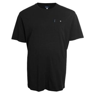 Ben Sherman Kingsize 48504 Basic Pocket T-Shirt Black