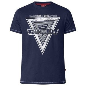 D555 Kingsize Gary T-Shirt Dark Navy