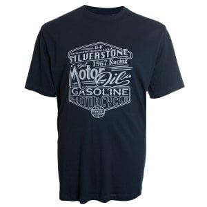 Espionage Kingsize T259 Silverstone Racing T-Shirt Navy