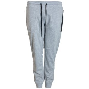 Jack & Jones Plus Size Core Will Sweat Pants Light Grey Melange