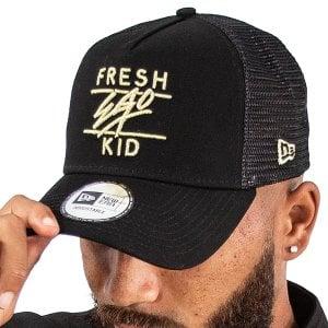 Fresh Ego Kid Mesh Trucker Cap Black/Gold