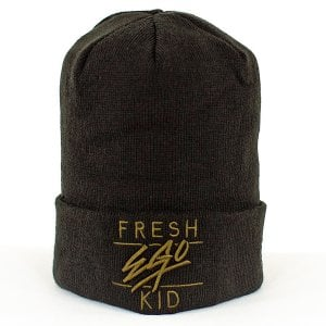 Fresh Ego Kid Beanie Black