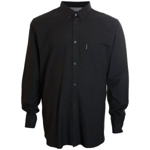 Ben Sherman Kingzize 48578 Oxford L/S Shirt Black