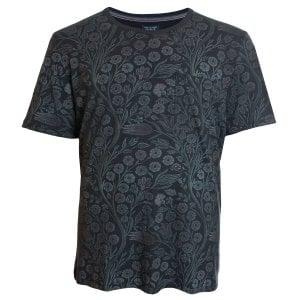 Jack & Jones Plus Size Premium Terry T-Shirt Caviar