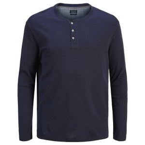 Jack & Jones Plus Size Henry L/S Top Navy Blazer