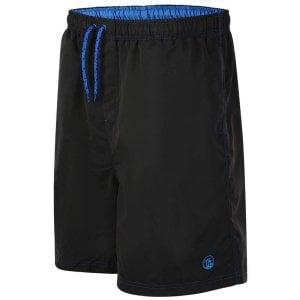 Espionage Kingsize SW057 Cargo Swim Shorts Black