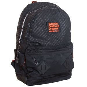 Superdry Hamilton Montana Backpack Black
