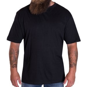 Solid State Kingsize Houston Premium Weight T-Shirt Black