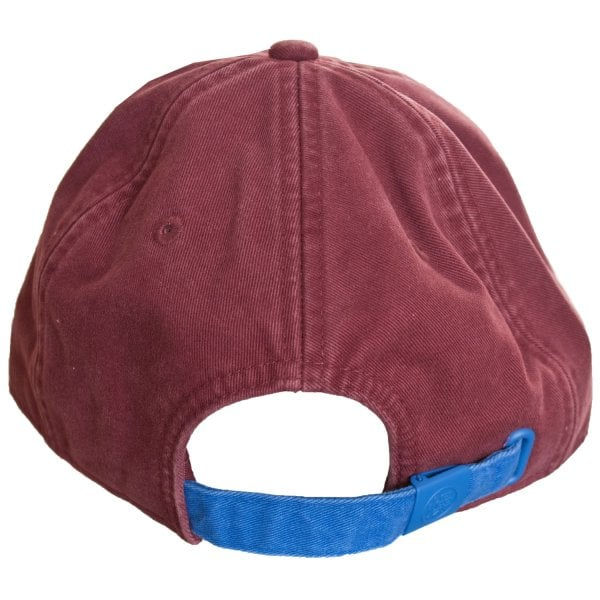 Superdry Men/'s Orange Label Wash Twill Cap Sunrise Burgundy