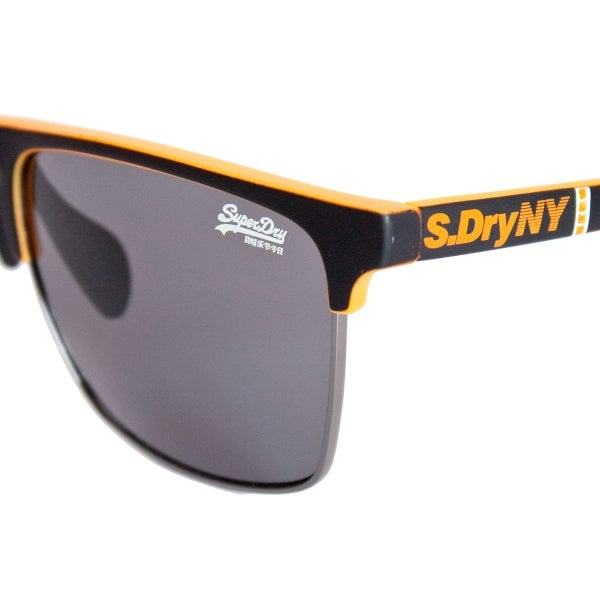 Superdry SDR Fira Sunglasses Black/Orange